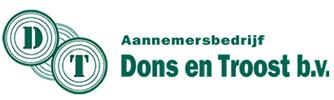 Logo Aannemersbedrijf Dons en Troost b.v.