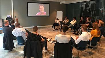 Deelnemers van de post-HBO-opleiding Bouwprocesmanagement 2018