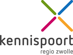 Logo Kennispoort Zwolle - Kennispartner SKOOB