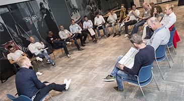 Informatiebijeenkomst van SKOOB over de opleiding Bouwprocesmanagement