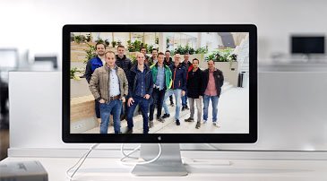 Groepsfoto SKOOB | opleiding Bouwprocesmanagement