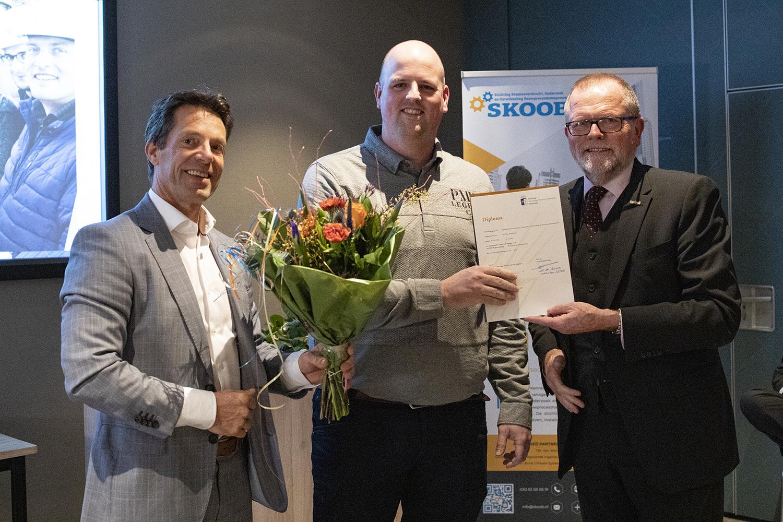 SKOOB - Diploma uitreiking van de post-hbo-opleiding Bouwprocesmanagement