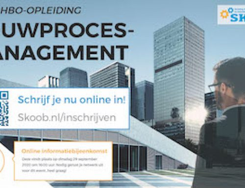Online infobijeenkomst op 29 september 2020