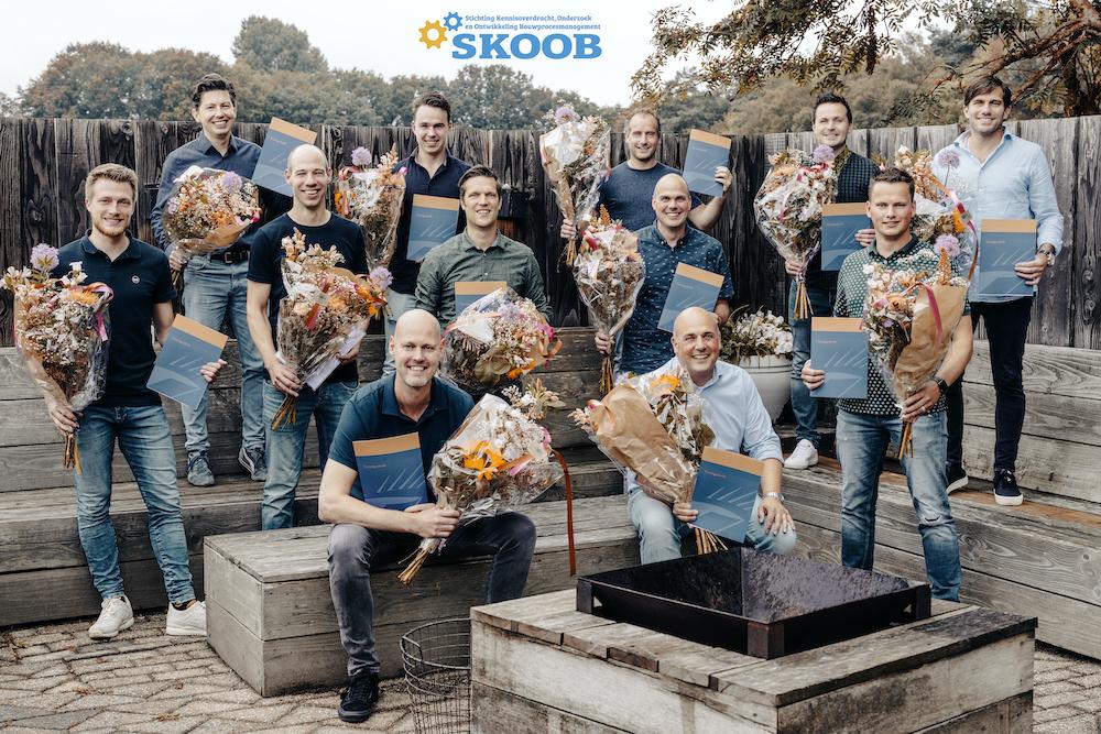 Diploma-uitreiking SKOOB - CPION erkend diploma post-hbo-opleiding Bouwprocesmanagement